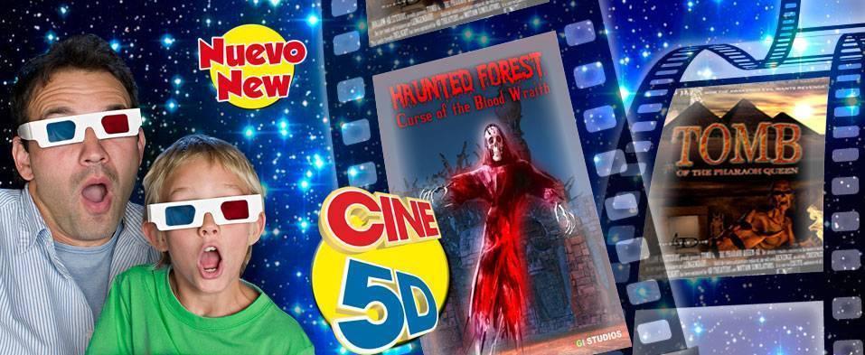 Cine 5d en Terra Mitica