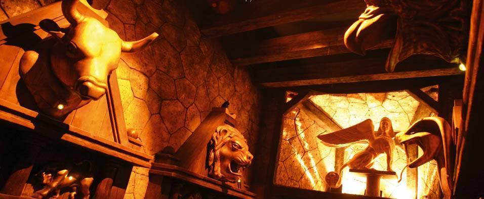 Interior El Laberinto del Minotauro
