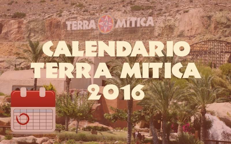calendario terra mitica 2016