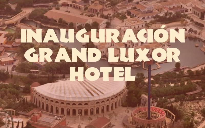 inauguración hotel terra mitica